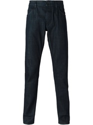 Dolce And Gabbana Classic Straight Leg Jeans Blue