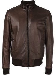 Barba 'Fox' Jacket Brown