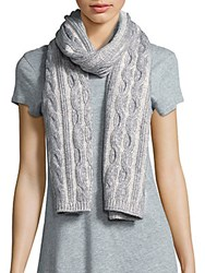Fraas Wool And Cashmere Scarf Taupe