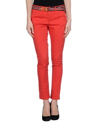 Franklin And Marshall Casual Pants Red