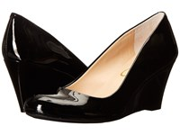 Jessica Simpson Sampson Black Patent Women's Wedge Shoes