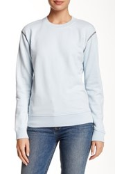 Marc By Marc Jacobs Crew Neck Sweatshirt Blue