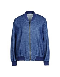 George J. Love Denim Outerwear Blue