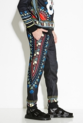 Forever 21 Bass Tribal Print Sweatpants