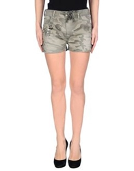Twin Set Jeans Shorts Military Green