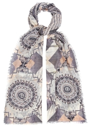 Lily And Lionel Metropolis Printed Scarf