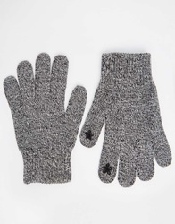 Asos Plain Touch Screen Gloves Grey