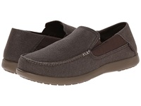 Crocs Santa Cruz 2 Luxe Espresso Walnut Men's Sandals Brown