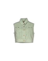 Galliano Denim Outerwear Light Green