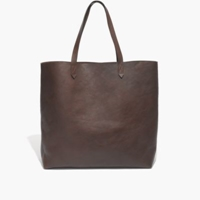 Madewell The Transport Tote Dark Cocoa