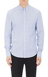 Band Of Outsiders Embroidered Button Down Shirt Multi Size 0 Xs