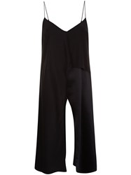 Cinq A Sept Long Slit Cami Top Black