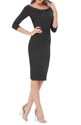 Js Collections Women's Bandage Midi Dress