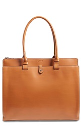Lodis 'Jessica' Leather Tote Toffee