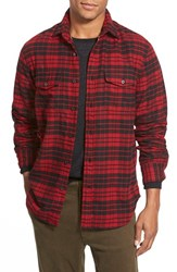 Men's Relwen Regular Fit Double Face Flannel Shirt