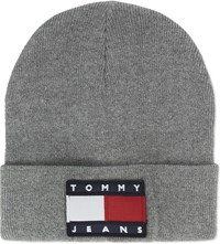 Tommy Jeans 90S Cotton Blend Beanie Grey Marl
