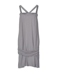 Siviglia Knee Length Dresses Light Grey