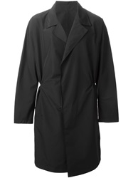 Oversized Trench Coat Black