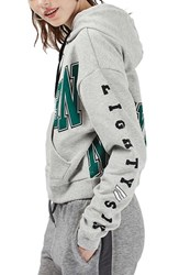 Topshop Women's New York Graphic Hoodie