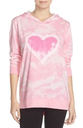 Women's Cozy Zoe Tie Dye Heart Hoodie