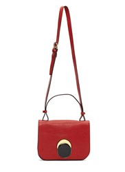 Marni Pois Circle Crossbody Bag Red