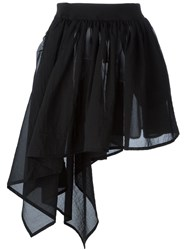 Y 3 Asymmetric Skirt Black