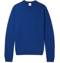 Paul Smith Mith Lim Fit Cahmere Weater Blue