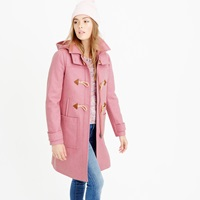 J.Crew Petite Wool Melton Toggle Coat