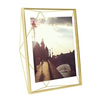 Umbra Prisma Photo Display Matt Brass 8X10