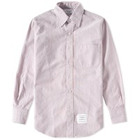 Thom Browne University Stripe Oxford Shirt Multi