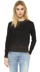 Cotton Citizen The Milan Crew Sweatshirt Vintage Black