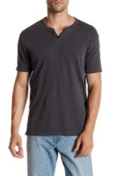 Lucky Brand Northshore Notch Henley Black