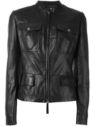 Roberto Cavalli Fitted Jacket Black