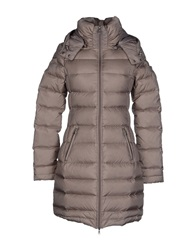 Guess Down Jackets Light Grey