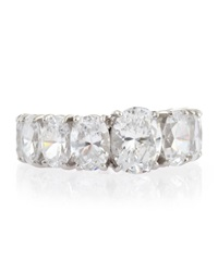 Fantasia Oval Cubic Zirconia Ring Band