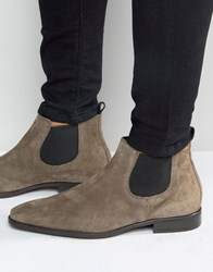 Kg By Kurt Geiger Lawson Suede Chelsea Boots Grey