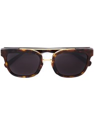 Retrosuperfuture Square Frame Sunglasses Brown