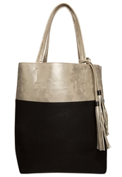 Evenandodd Tote Bag Golden Black