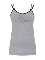 Green Lamb Active Tank Top Grey