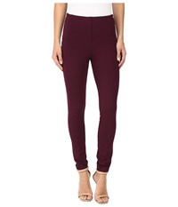 Ivanka Trump Ponte Compression Pants Wine Women's Casual Pants Burgundy