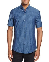 Zachary Prell Nathan Slim Fit Button Down Shirt Blue