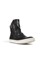 Officine Creative Leather Paragon Sneaker Boots