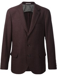 Brunello Cucinelli Classic Formal Blazer Brown