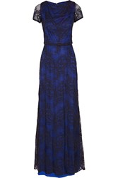 Catherine Deane Beau Lace Gown Blue