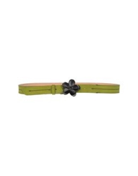 Galliano Belts Military Green