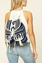 Forever 21 Tribal Print Backpack