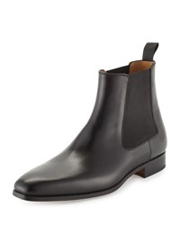 Magnanni Hand Antique Leather Boots Black