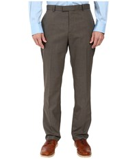 Perry Ellis Regular Fit Pattern Twill Dress Pants Chinchilla Men's Casual Pants Gray