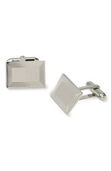 David Donahue Cuff Links Silver