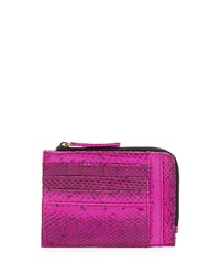 Beirn Watersnake Double Sided Card Case Pansy Bright Pink